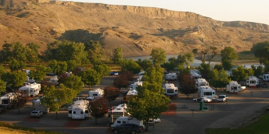Bridal Falls Drumheller, chilliwack hope rv park RV Park Vacation