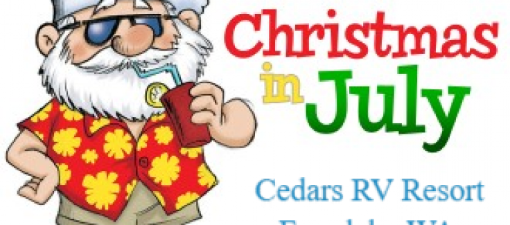 Christmas In July Date 2020 Scavenger Hunt Archives   Holiday Trails Resorts